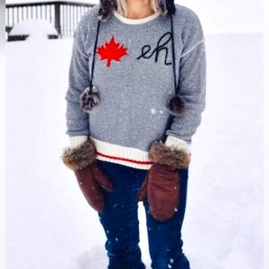 Cotton Country 'Canada Eh' Sweater SZ S